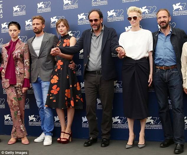 Line-up: Lily McMenamy, Matthias Schoenaerts, Luca Guadagnino, Dakota Johnson, Tilda Swinton and Ralph