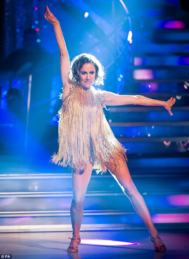 Unloyal? Caroline Flack has pledged her allegiance to rival show she won in 2014 - Strictly Come Dancing