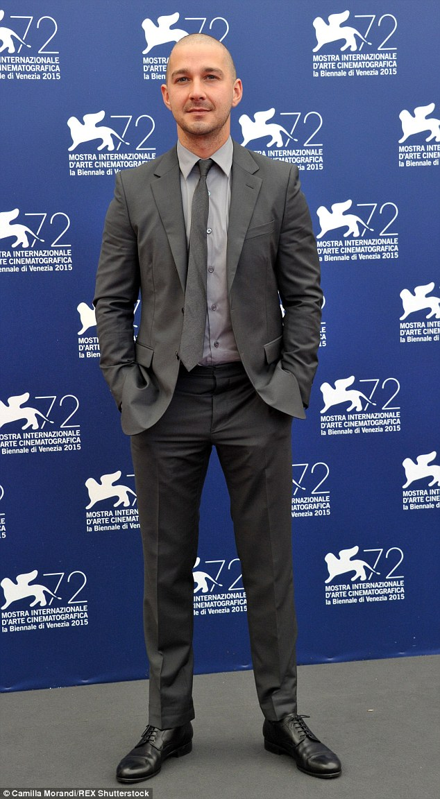 At it again! The 29-year-old sharpened up once more for a Man Down photocall at the film festival that same day