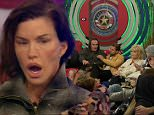 ****Ruckas Videograbs****  (01322) 861777 *IMPORTANT* Please credit Channel 5 for this picture. 06/09/15 Celebrity Big Brother  Day 11 Grabs from the 9pm show Office (UK): 01322 861777 Mobile (UK): 07742 164 106 **IMPORTANT - PLEASE READ** The video grabs supplied by Ruckas Pictures always remain the copyright of the programme makers, we provide a service to purely capture and supply the images to the client, securing the copyright of the images will always remain the responsibility of the publisher at all times. Standard terms, conditions & minimum fees apply to our videograbs unless varied by agreement prior to publication.