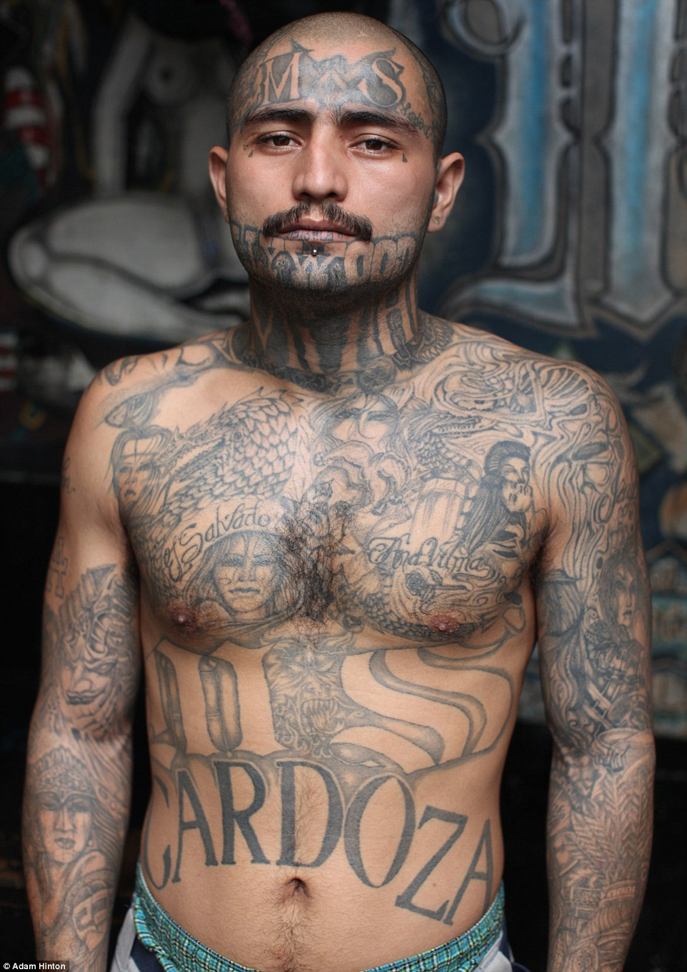Run this town: In Penas Ciudad Barrios, the Mara Salvatrucha control their own miniature society of some 2,500 incarcerated members, complete with a bakery, workshops, a hospital and rehab