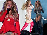 PHILADELPHIA, PA - SEPTEMBER 05:  Beyonce performs onstage during the 2015 Budweiser Made in America Festival at Benjamin Franklin Parkway on September 5, 2015 in Philadelphia, Pennsylvania.  (Photo by Kevin Mazur/Getty Images for Anheuser-Busch)