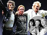 Picture Shows: Ronnie Wood, Kenney Jones, Rod Stewart  September 05, 2015    The Faces reunion after 40 years at Hurstwood Park Polo Club in Surrey, UK. The legendary rock band gave a great performance for their reunion.    Non Exclusive  Worldwide Rights    Pictures by : FameFlynet UK © 2015  Tel : +44 (0)20 3551 5049  Email : info@fameflynet.uk.com