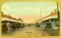 Street Scene, Bartlett, Texas