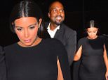 Kim Kardashian and Kanye West were spotted arriving home after celebrating the wedding of good friend, Steve Stoute. The Party, at Blue Hill in Tarrytown, NY was attended by a variety of A-List Stars including, JayZ Beyonce, Lebron James, Alicia Keys, Swizz Beatz and the Wests. Kanye looked dapper and even Presidential, in his perfectly tailored suit, while Kim wore a Black Valentino 2015 Caped dress, showing off her baby bump.\n\nPictured: Kim Kardashian, Kanye West\nRef: SPL1118362  060915  \nPicture by: 247PAPS.TV / Splash News\n\nSplash News and Pictures\nLos Angeles: 310-821-2666\nNew York: 212-619-2666\nLondon: 870-934-2666\nphotodesk@splashnews.com\n