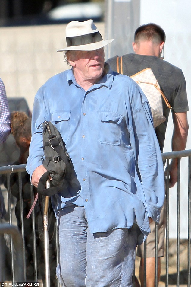Also in attendance: Nick Nolte also made an appearance at the fair