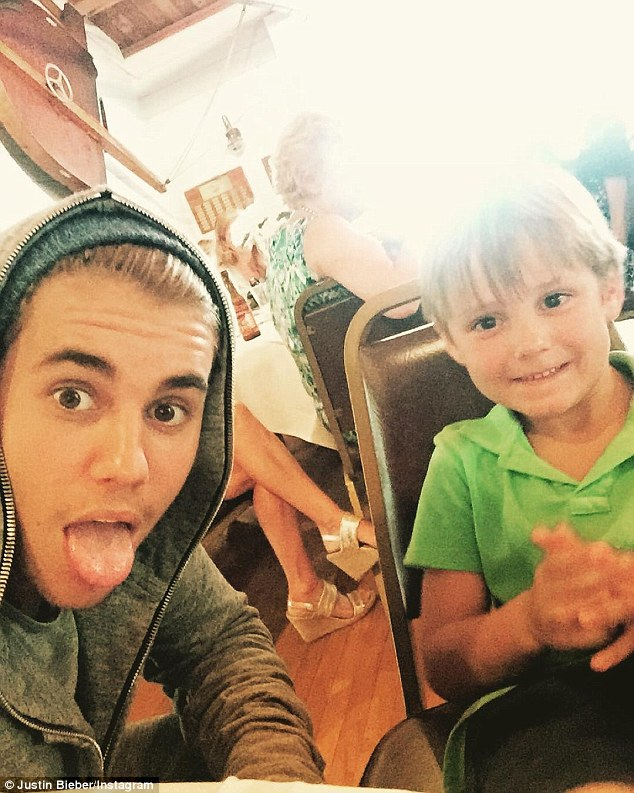 Fun! The star posted a sweet selfie on Sunday afternoon
