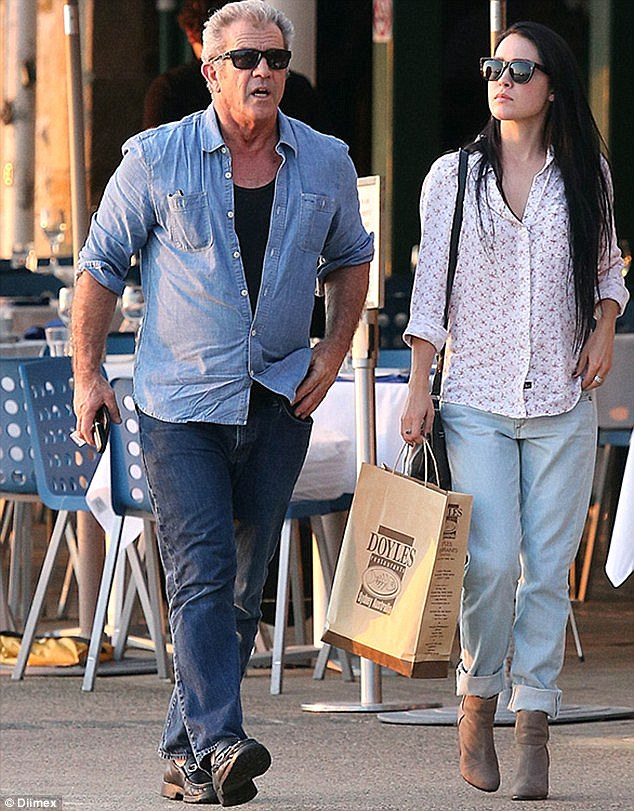 Smitten: The Hollywood actor has been dating the pretty brunette - a champion equestrian vaulter - since earlier this summer