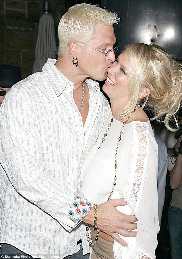 Business partners: Jay married Jenna in 2003 before she filed for divorce in 2006 after they'd set up multimedia pornographic entertainment company ClubJenna. Here they are pictured at an event in July 2004