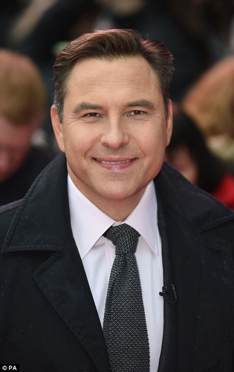 Little Walliams: Now giving other wannabes their break on Britain's Got Talent, comic David Walliams' own chance came on Casualty in 2003