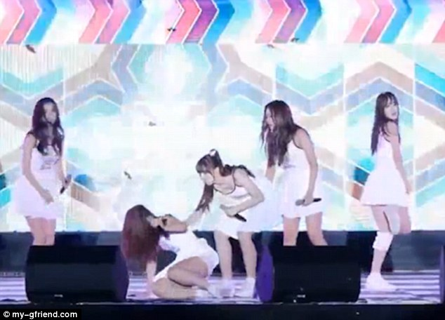 A video of the girls was posted to YouTube by top1 Kpop and although the scene was quite humorous the description said 'some fans were concerned for the pop stars'