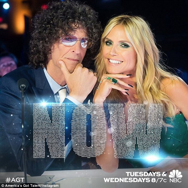 Hanging with Howard Stern: Heidi currently judges the 10th season of America's Got Talent, which airs Tuesdays and Wednesdays on NBC