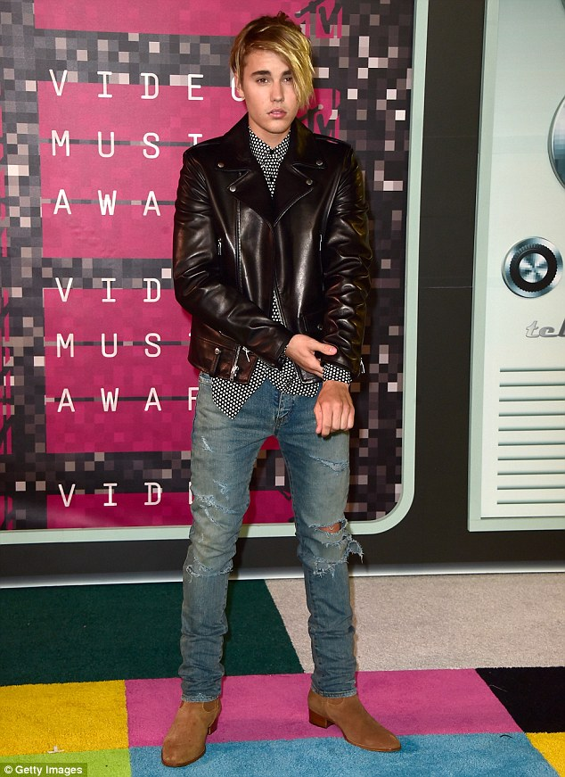 """Comeback: Justin, 21, has been working hard to promote his new single What Do You Mean"""" and rehabilitate his image. His performance at the MTV Video music Awards on August 30 was widely regarded as a triumph"""