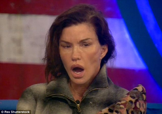 Punishment: She's frustrated her Celebrity Big Brother housemates since the start, but it appears Janice Dickinson, 60, might have a change of heart after she was seen apologising to them on Saturday night