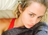 Miley Cyrus shares photo mileycyrusWhen it's 100 degrees outside but you are feelin sickyyyyy and you are freezing