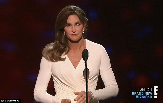 Nerves: Caitlyn said being onstage made her feel extremely 'vulnerable'