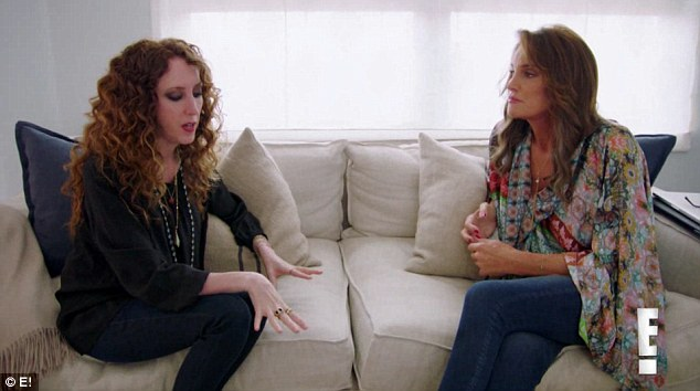 Good resume: On the latest clip from I Am Cait, Caitlyn enlists the help of Jen Rade to get ready for her Espy award back in July, primarily because she is the stylist behind Brad Pitt's missus