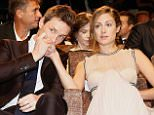 VENICE, ITALY - SEPTEMBER 05:  Actor Eddie Redmayne and Hannah Bagshawe attend a premiere for 'The Danish Girl' during the 72nd Venice Film Festival at  on September 5, 2015 in Venice, Italy.  (Photo by Tristan Fewings/Getty Images)