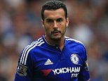 29 August 2015 - Barclays Premier League - Chelsea v Crystal Palace - Pedro of Chelsea - Photo: Marc Atkins / Offside.