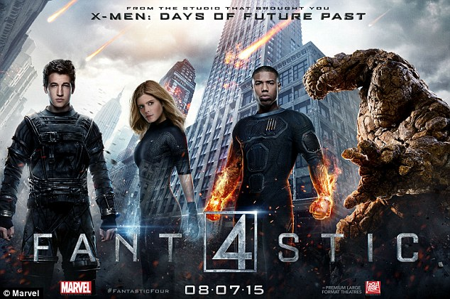 Flop: He played Ben 'The Thing' Grimm opposite her Sue 'Invisible Woman' Storm in the recent Fantastic Four reboot, and its disappointing show at the box office does not seem to have put a dampener on their blossoming relationship