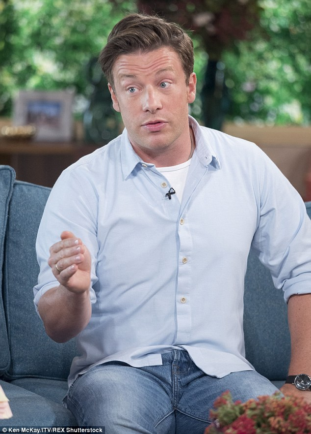 Speaking on This Morning, Jamie said losing weight doesn't have to mean starving