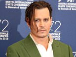 "Photocall of ""BLACK MASS' during 72nd Venice Film Festival, Sept.4th, 2015, Venezia, Italy  Pictured: Johnny Depp Ref: SPL1116746  040915   Picture by: KCS Presse / Splash News  Splash News and Pictures Los Angeles: 310-821-2666 New York: 212-619-2666 London: 870-934-2666 photodesk@splashnews.com"