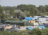 The Jungle in Calais, France, where migrants have a camp. Many hope to reach the U.K. Picture by Damien McFadden: 07968 308252