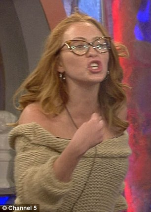 Come to blows: By the looks of it, Farrah Abraham will be receiving a nomination from Atomic Kitten's Natasha Hamilton, 33, after the pair had a huge fight on Monday night
