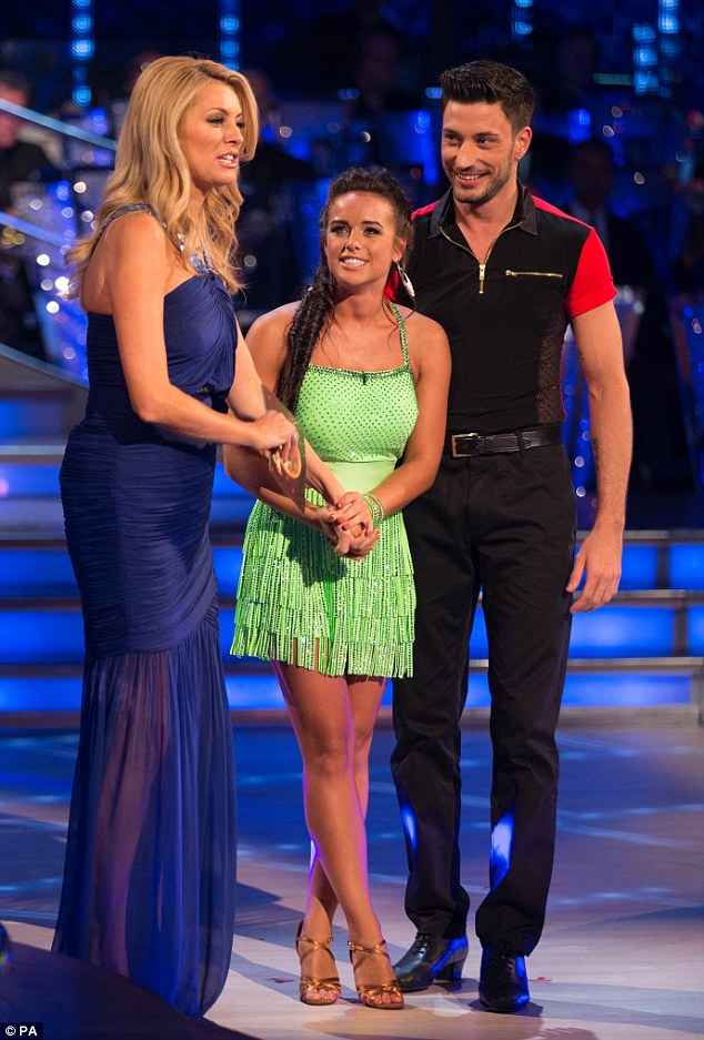 'The Two Gs!' It was revealed that former Coronation Street star Georgia May Foote would be moving and shaking alongside Sicilian newcomer Giovanni Pernice in this year's Strictly Come Dancing