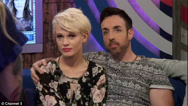 He wants to feel her: Jenna said that the housemates were uncomfortable with the amount of PDA between the former X Factor couple