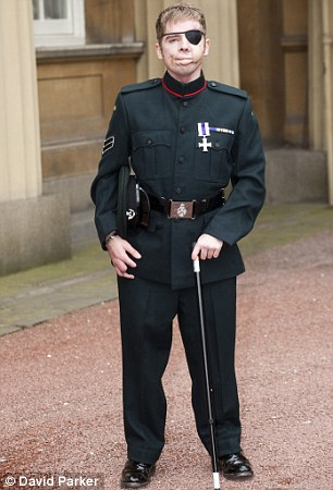 Corporal Ricky Ferguson from The Rifles Regiment