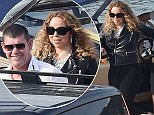 06.SEPTEMBER.2015 - PORTOFINO - ITALY **EXCLUSIVE ALL ROUND PICTURES** **NOT AVAILABLE FOR ITALY** R&B DIVA MARIAH CAREY AND BOYFRIEND JAMES PACKER CONTINUE TO ENJOY THEIR HOLIDAYS ON THE BEAUTIFUL TOWN OF PORTOFINO. THE COUPLE ARE SEEN GETTING ON BOARD A HELICOPTER ON THEIR WAY TO THE U2 CONCERT IN TURIN.  BYLINE MUST READ : XPOSUREPHOTOS.COM ***UK CLIENTS - PICTURES CONTAINING CHILDREN PLEASE PIXELATE FACE PRIOR TO PUBLICATION *** **UK CLIENTS MUST CALL PRIOR TO TV OR ONLINE USAGE PLEASE TELEPHONE  44 208 344 2007 ***