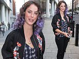 Kaya Scodelario pictured arriving at the Radio 1 studios to promote the new film Maze Runner: Scorch Trials Featuring: Kaya Scodelario Where: London, United Kingdom When: 07 Sep 2015 Credit: Mario Mitsis/WENN.com