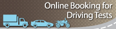 Online Booking for Driving Tests