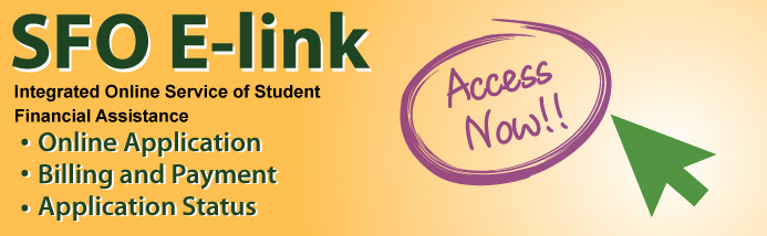 Integrated Online Service of Student Financial Assistance, SFO E-link