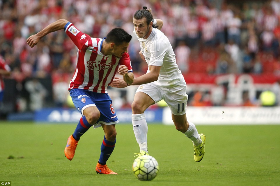 Bale, who was criticised by the Spanish media and Madrid fans last season, takes onSergio Alvarez El Molinon stadium