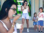 kourtney kardashian ice cream