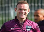 ENFIELD, ENGLAND - SEPTEMBER 07:  Wayne Rooney of England leads the team out to a training session at Tottenham Hotspur Training Centre on September 7, 2015 in Enfield, England.  (Photo by Shaun Botterill/Getty Images)