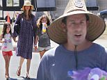 Adam Sandler wearing a large straw hat goes out and about in Malibu with his wife and daughters\nFeaturing: Adam Sandler\nWhere: Los Angeles, California, United States\nWhen: 07 Sep 2015\nCredit: WENN.com
