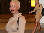 """While promoting her up coming """"LA SlutWalk"""" and """"How To Be A Bad Bitch"""" book, model Amber Rose gave a live interview on 'MTV's Girl Code Live' in NYC's Times Square.  Pictured: Amber Rose Ref: SPL980938  070915   Picture by: Splash News  Splash News and Pictures Los Angeles: 310-821-2666 New York: 212-619-2666 London: 870-934-2666 photodesk@splashnews.com"""