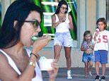 kourtney kardashian ice cream