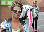 Mandatory Credit: Photo by REX Shutterstock (5052752g)  Danielle O'Hara  Danielle Lloyd out and about, Birmingham, Britain - 08 Sep 2015  Danielle O'Hara spotted out in Birmingham, collecting a dress she's due to wear when she judges Miss Great Britain.