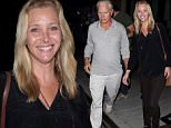 UK CLIENTS MUST CREDIT: AKM-GSI ONLY\nEXCLUSIVE: Beverly Hills, CA - 'Friends' star Lisa Kudrow joined her husband Michael Stern and others for dinner at Palm Restaurant in Beverly Hills.\n\nPictured: MIchael Stern\nRef: SPL1119433  060915   EXCLUSIVE\nPicture by: AKM-GSI / Splash News\n\n