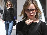 UK CLIENTS MUST CREDIT: AKM-GSI ONLY\nEXCLUSIVE: Santa Monica, CA - Actress Calista Flockhart and a friend seen out and about in Sta. Monica while running errands.\n\nPictured: Calista Flockhart\nRef: SPL1117743  050915   EXCLUSIVE\nPicture by: AKM-GSI / Splash News\n\n