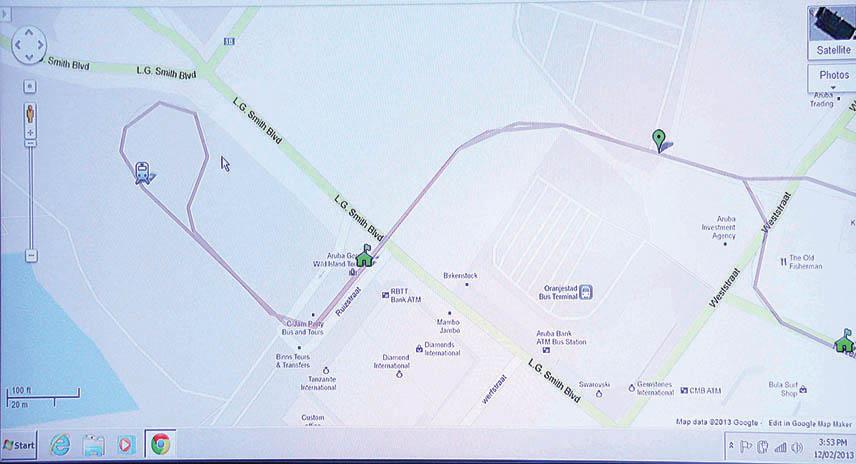 Map of route -tram.jpg