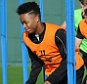 LIVERPOOL, ENGLAND - OCTOBER 17:  (THE SUN OUT, THE SUN ON SUNDAY OUT) Raheem Sterling of Liverpool in action during a training session at Melwood Training Ground on October 17, 2014 in Liverpool, England.  (Photo by Andrew Powell/Liverpool FC via Getty Images)