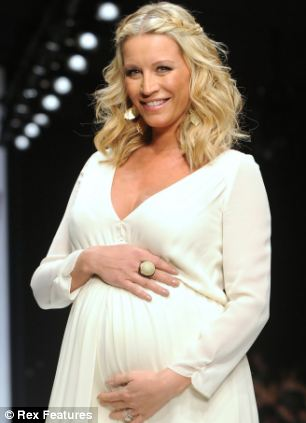 Strictly Come Dancing's Denise Van Outen on the catwalk