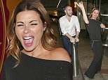 Picture Shows: Shayne Ward, Alison King  September 08, 2015    Celebrities seen leaving the TV Choice Awards at the Hilton Park Lane hotel in London, UK.    Non Exclusive  WORLDWIDE RIGHTS    Pictures by : FameFlynet UK © 2015  Tel : +44 (0)20 3551 5049  Email : info@fameflynet.uk.com