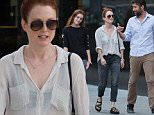 EXCLUSIVE: September 7th 2015: Julianne Moore with husband Bart Freundlich and daughter Liv Freundlich seen going for a stroll on Monday evening in New York City, USA.\n\nPictured: Julianne Moore, Bart Freundlich and Liv Freundlich\nRef: SPL1119138  070915   EXCLUSIVE\nPicture by: GSNY / Splash News\n\nSplash News and Pictures\nLos Angeles: 310-821-2666\nNew York: 212-619-2666\nLondon: 870-934-2666\nphotodesk@splashnews.com\n