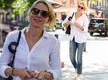 Naomi Watts enjoying a a stroll in Tribeca on a bright sunny day\nFeaturing: Naomi Watts\nWhere: New York City, New York, United States\nWhen: 08 Sep 2015\nCredit: WENN.com